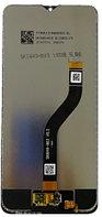 Дисплей Samsung A20s / А207 ОРИГИНАЛ с сенсором, цвет черный, фото 1