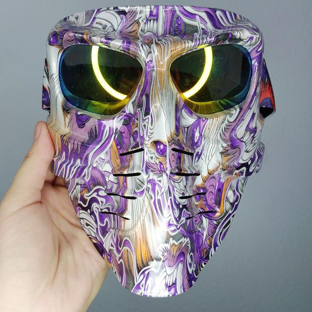 Мотоциклетные и горнолыжные маски