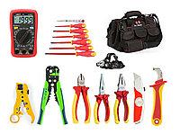 Набор инструментов электрика 1000B, 17 предметов
