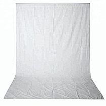 Белый фон 5х2.3 м Студийный, тканевый, фото 3