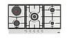 Встраиваемая электрогазовая варочная панель DANKE KRETA 93GTP