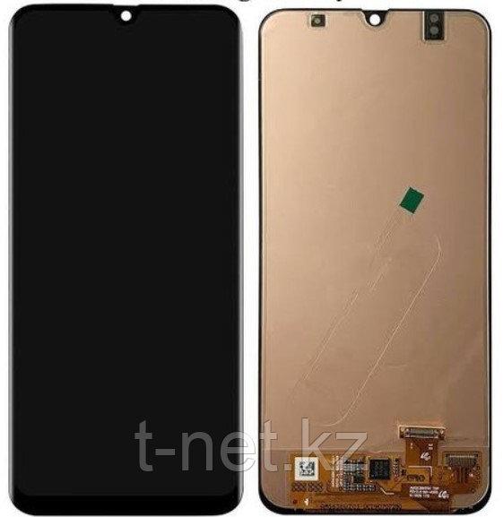 Дисплей Samsung A30 / А305 INCELL с сенсором, без рамки, цвет черный