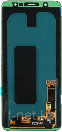 Дисплей Samsung A6 PLUS 2018 / А605 Качество OLED с сенсором, цвет черный