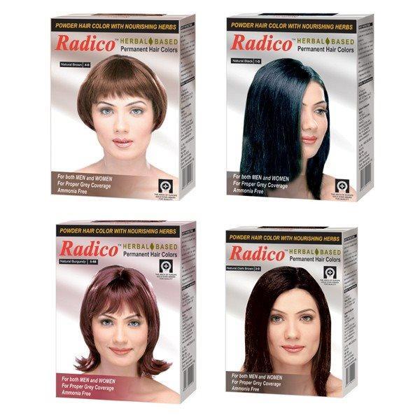 Краска для волос Radico темно-коричневого цвета - фото 3