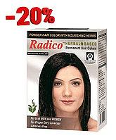 Краска для волос Radico темно-коричневого цвета