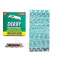 Сменные лезвия для бритья Половинки -Derby Professional Single Edge Blades ( 100 шт)