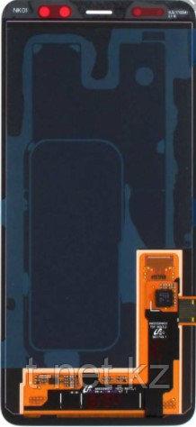 Дисплей Samsung A8 2018 / А530 OLED с сенсором, цвет черный