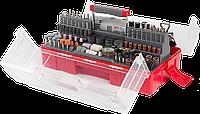 Гравер ЗУБР электрический с набором мини-насадок в кейсе, 242 предмета (ЗГ-130ЭК H242)