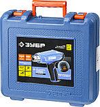 Фен технический (строительный), ЗУБР Профессионал ФТ-П1800 К, керамич изолят, электр регул темп-ры, 2 режима, фото 6