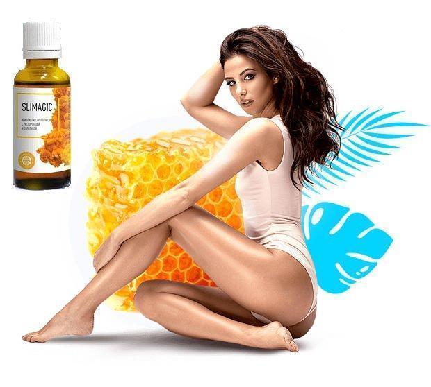 Slimagic (Слимеджик) прополисный эликсир для похудения - фото 2