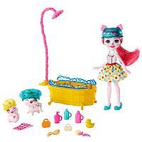 Энчантималс игровой набор Банный день со свинкой Пигги, фото 1