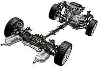 Ходовая часть на все марки Mercedes