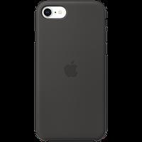 Оригинальный силиконовый чехол для iPhone SE - Black