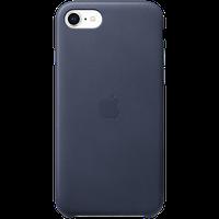 оригинальный кожаный чехол для iPhone SE - Midnight Blue