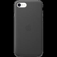 Оригинальный кожаный чехол для iPhone SE - Black