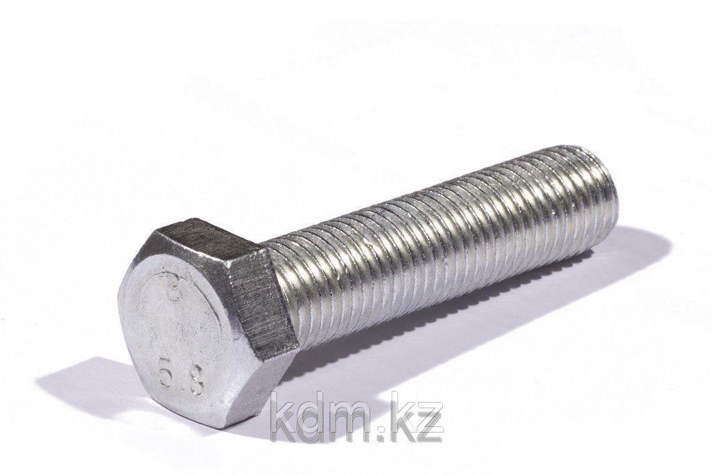 Болт М10*25 DIN 933 оц. кл. 5.8