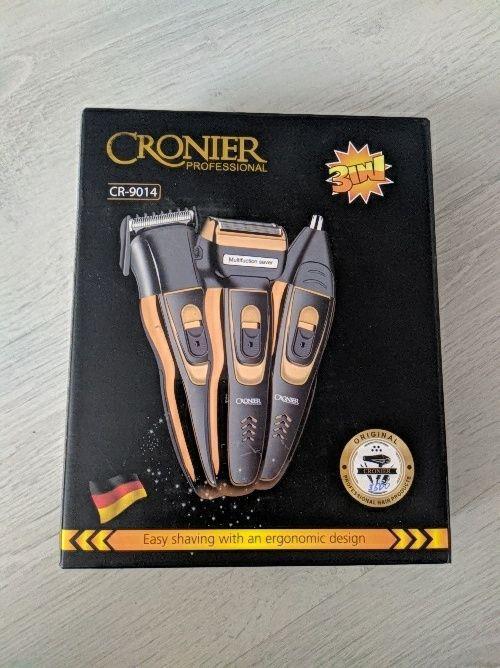 Машинка (триммер) для стрижки 3 в 1 Cronier CR-9014