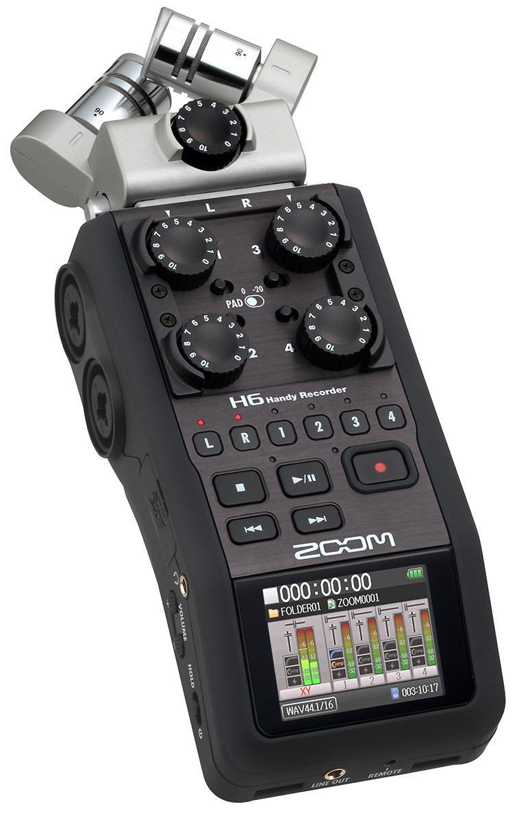 Рекордер Zoom H6 All Black - фото 1