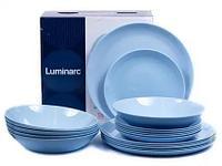 Столовый сервиз Luminarc Diwali Light Blue 18 предметов на 6 персон, фото 1