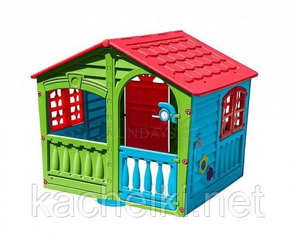 Домик PalPlay Фермер 780 (красный/зеленый/голубой)