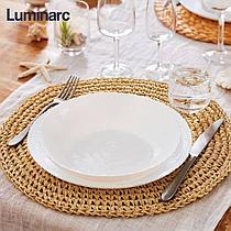 Столовый сервиз Luminarc Ammonite White 19 предметов на 6 персон
