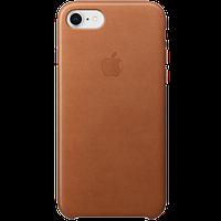 Оригинальный IPhone SE Gen.2/8/7 Кожаный Чехол - Saddle Brown
