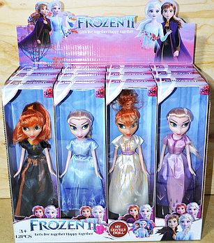 LL602 Кукла Frozen Холодное Сердце 2 вида из 12 шт 28*8