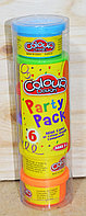 6609 Пластелин Colour Dough Party Pack мини баночки 18*5