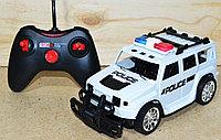 0855-134 Полицейская машина Police Car Хаммер на р/у 4 функции 29*12, фото 1