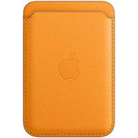 Кожаный кошелек для IPhone с MagSafe - California Poppy