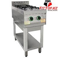 Плита газовая 2-х конфорочная без жар. шкафа ПГ-2-01(415х850х860х(960) мм) Оценка покупателей
