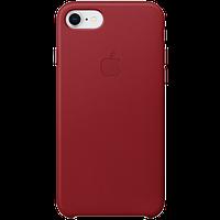 Оригинал IPhone SE Gen.2/8/7 Кожаный Чехол - (PRODUCT)RED