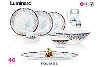 Столовый сервиз Luminarc Essence Foliage 46 предметов на 6 персон