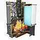 Печь для бани ЕМЕЛЬЯНЫЧ-3 Ceramic под бак слева (Дионис) 8 - 18 м3, фото 7