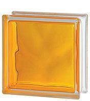 Стеклоблок Brilly Yellow 1919/8 WAVE 122192