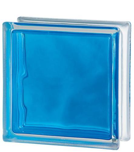Стеклоблок Brilly Blue 1919/8 WAVE 122184