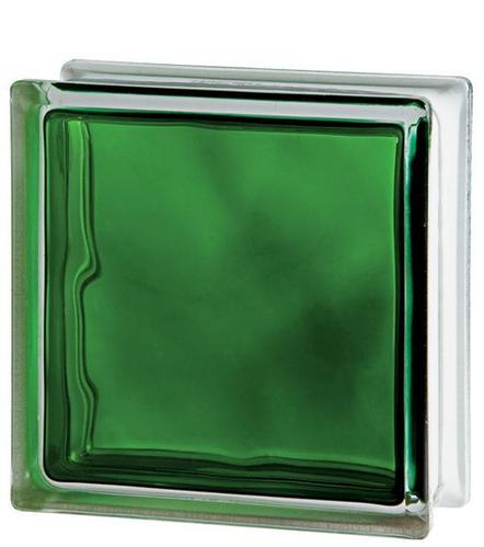 Стеклоблок Brilly Emerald 1919/8 WAVE 122186