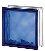 Стеклоблок Blue 1919/8 WAVE 122170