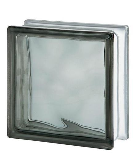 Стеклоблок Grey 1919/8 WAVE 122172