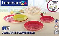 Столовый сервиз Luminarc Ambiante Flowerfield 52 предмета на 6 персон, фото 1