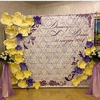 3D баннер, пресс-стена, фотозона Астана, баннер на свадьбу