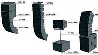 FBT MITUS Широкий спектр активных и пассивных линейных массивов, двухполосных колонок, сабвуферов...