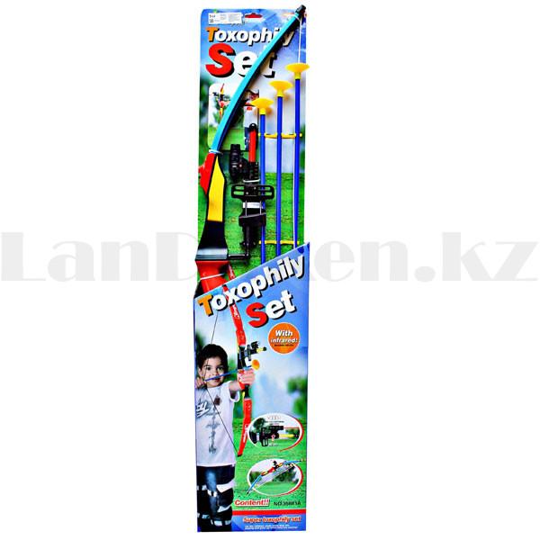 """Игрушечный набор лук и стрелы с лазерным прицелом """"Kingsport"""" 35881А высота 94 см - фото 10"""