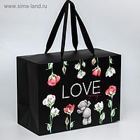 "Пакет-коробка ""Love myself"", Me To You, 20 x 28 x 13 см"
