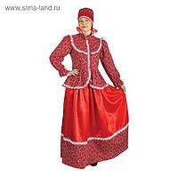Русский народный костюм «Забава», головной убор, блуза, юбка, р. 44