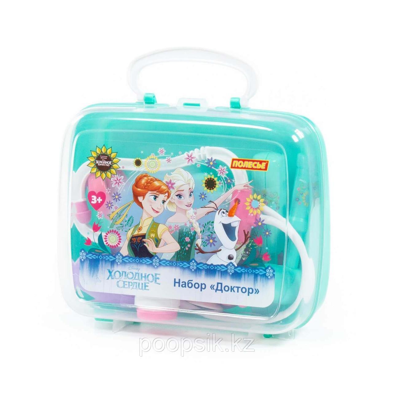 Игровой набор Доктор (Холодное сердце) в чемоданчике Полесье 73204 - фото 2
