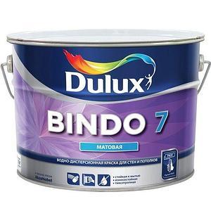 Краска Dulux BINDO 7 BW (белая) 10л