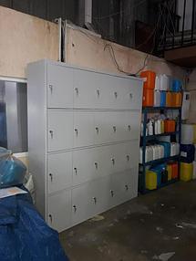 Оборудование гардеробных помещений на производстве 3