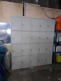 Оборудование гардеробных помещений на производстве 7