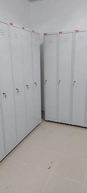 Оборудование гардеробных помещений на производстве